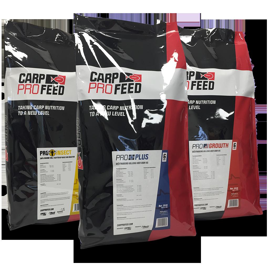 Carp Pro Feed Range